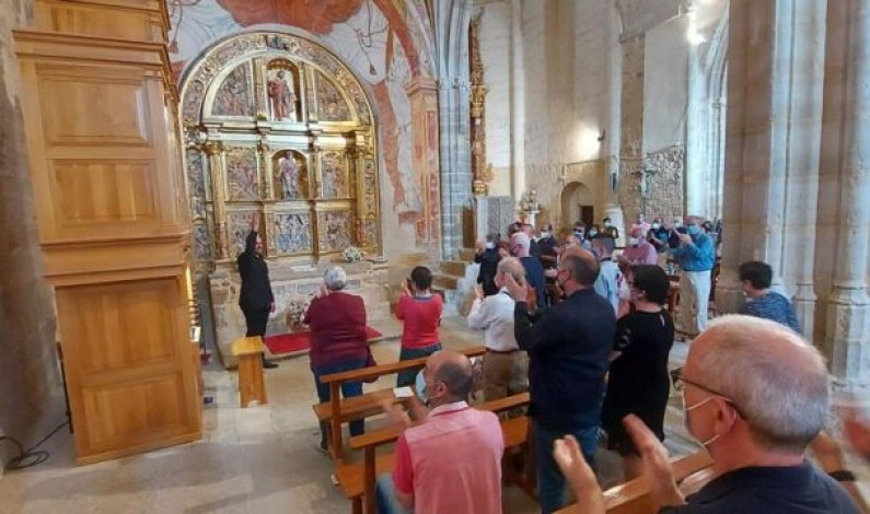 Castrillo Mota de Judíos ensalza a Cabezón con el concierto de órgano de De la Rubia en su templo parroquial