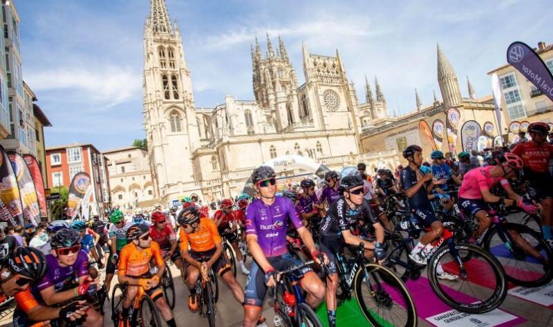 La Vuelta a Burgos da su pistoletazo de salida desde la Catedral