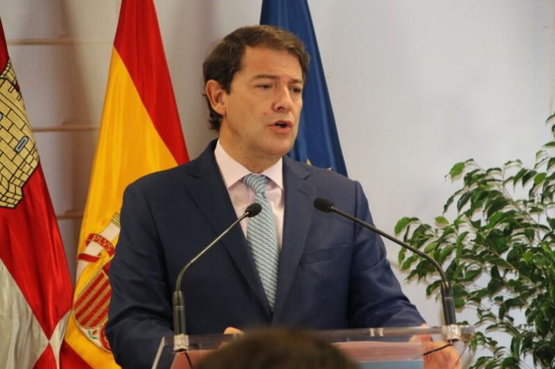 Mañueco: «El Gobierno de la Junta de Castilla y León va a  poner toda la carne en el asador para apostar y cerrar la brecha digital entre las grandes empresas y las pymes»