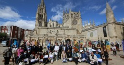 La Ruta Jacobea quedará señalizada por peregrinos decorados por 41 artistas burgaleses