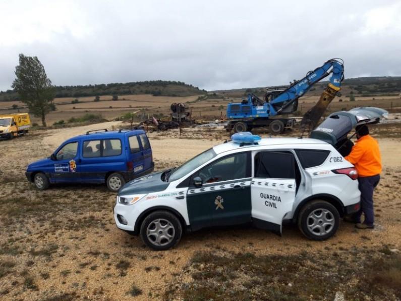 Se paralizan las obras de desmantelamiento del Campo petrolífero de Ayoluengo