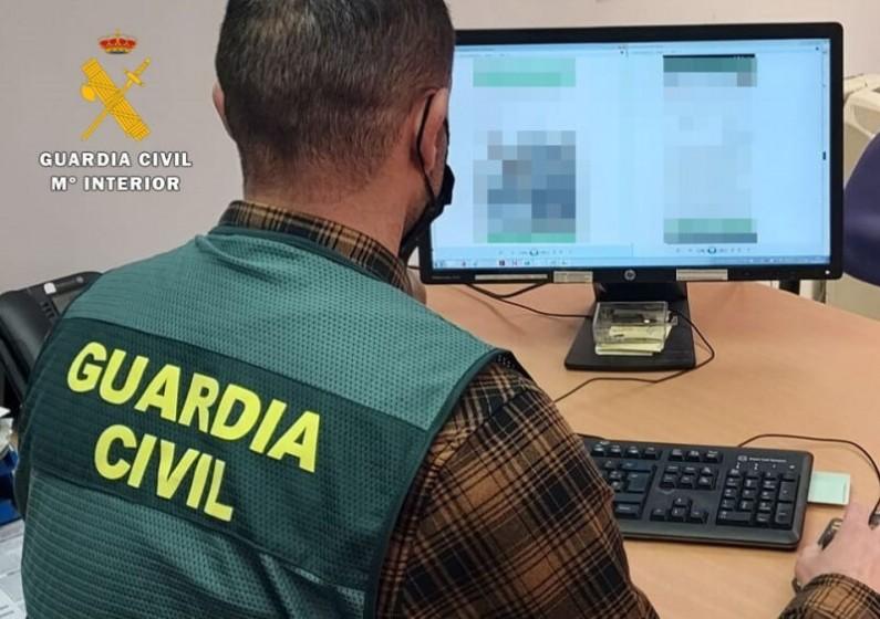 La Guardia Civil detiene a una persona por falsificar la firma en dos contratos de alquiler