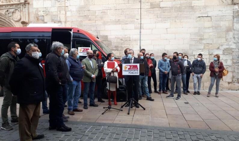 La Junta implanta el bono rural de transporte gratuito en 85 localidades de la zona de Briviesca