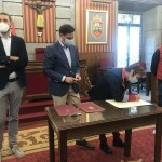 firma el Convenio de Colaboración para la Gestión de Ayudas en el Área de Regeneración y Renovación Urbana del Barrio de San Cristóbal