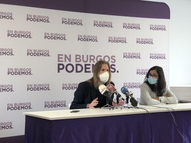 Pablo Fernández y Laura Domínguez