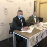 Firma entre SODEBUR y la Federación Provincial de Hostelería