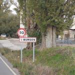 Acceso a Burgos por la carretera de Arcos