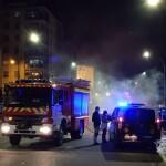 Bomberos de Burgos en Gamonal