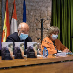 Francisco Igea en la reunión del Canal de Castilla
