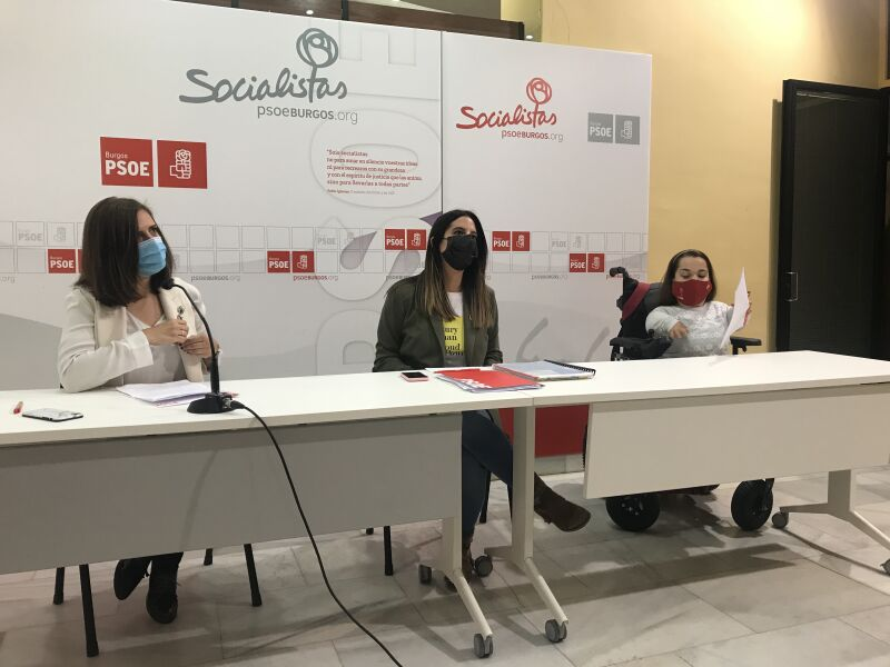 Nuria Rubio, Esther Peña y Noelia Frutos