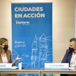 Reunión de trabajo con el Grupo Municipal Popular de Logroño