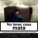 """Campaña """"Nadie sin hogar"""" de Cáritas"""