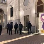 Manifestación 25N Subdelegación del Gobierno en Burgos