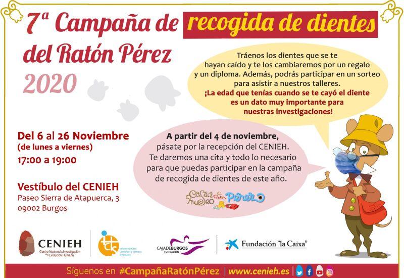 Cartel Ratón Pérez 2020 H