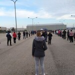 Test masivos en Aranda de Duero.Foto @FranciscoIgea