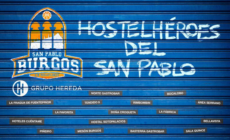 Hostelhéroes del Hereda San Pablo Burgos