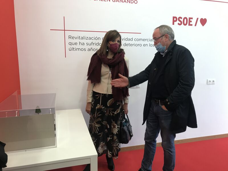 Nuria Barrio y Pedro Alonso Báscones