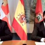 Vicente Marañón y Daniel de la Rosa en rueda de prensa 17-11-2020