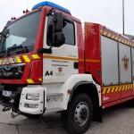 Nuevo vehículo bomberos burgos