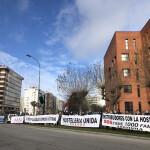 Manifestación hostelería - Delegación territorial de la Junta 9-12-2020