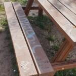 Desperfectos en parques y bancos de la zona sur 4