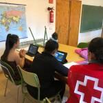 Apoyo escolar Cruz Roja COVID19