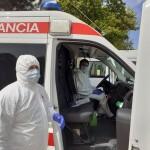 Ayuda a sanitarios Miranda Cruz Roja