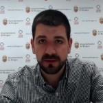 David Jurado, concejal de Hacienda del Ayuntamiento de Burgos