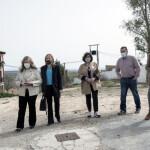 Visita a la parcela donde se ubicarían los nuevos juzgados de Lerma