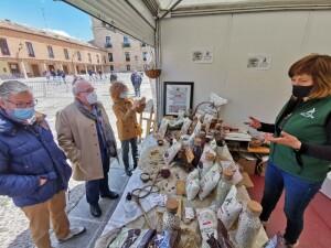 Legumbres Arlanza en el Mercado de Burgos Alimenta