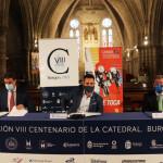 César Rico, Daniel de la Rosa y Ángel Ibáñez en la presentación de esta mañana