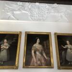 Retratos de Isabel II en el Palacio de Castilfalé