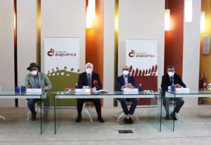 Rueda de prensa posterior a la reunión del Patronato de la Fundación Atapuerca