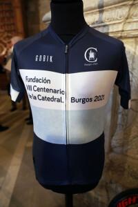 Maillot Fundación VIII Centenario de la Catedral. Burgos 2021