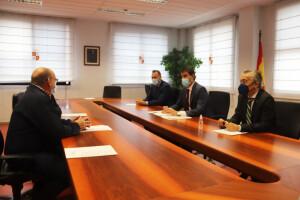 Reunión de los alcaldes con el Consejero de la Presidencia