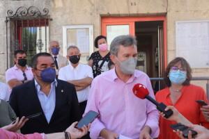 Comparecencia de Javier Lacalle frente al Ayuntamiento de Ibeas de Juarros