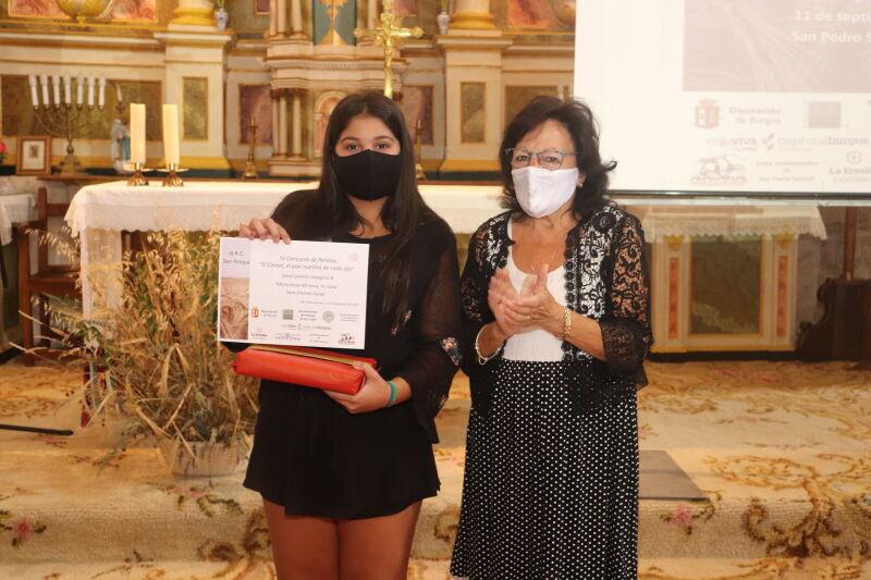 Entrega de premios del concurso de relatos El cereal el pan nuestro de cada dia en San Pedro Samuel (34)