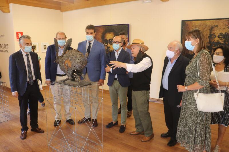 """Exposición """"Contemporáneos de Miguel Delibes en la cultura burgalesa"""""""